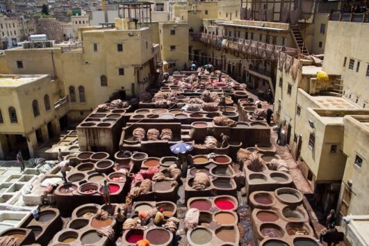Fes Morocco City