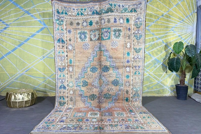 Moroccan Multicolored Berber Rug 5.6ft x 10.4ft 794x530 - Moroccan Carpets Guide